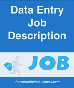Data Entry Job Description.