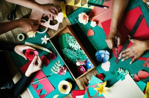 Making Crafts at Home to Sel