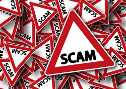 Scammers Red Flag