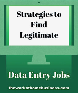 Strategies to Find Legitimate Data Entry Jobs