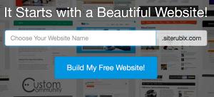 Type in Domain Name