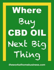 Where Buy CBD Oil
