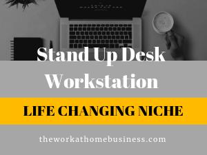 Stand Up Desk Workstation