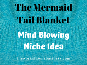 The Mermaid Tail Blanket