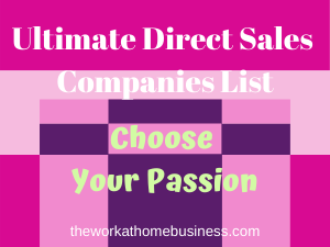 Ultimate Direct Sales Companies List