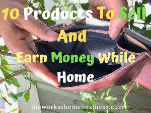 10 Products To Sell And Earn Money While Home