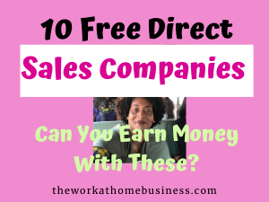 Free Direct Sales Companies