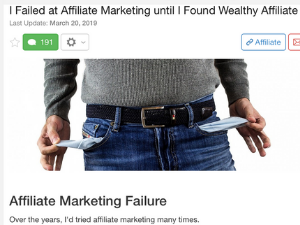 Wealthy Affiliate To The Rescue