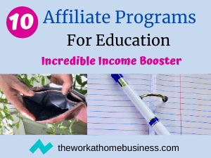 Affiliate Programs For Education