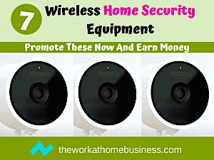Wireless Home Security Equipment