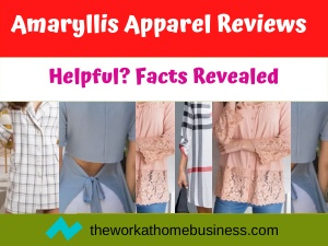 Amaryllis Apparel Reviews