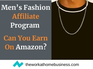 Men's Fashion Affiliate Program