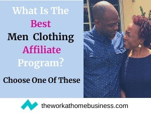 men clothing affiliate program