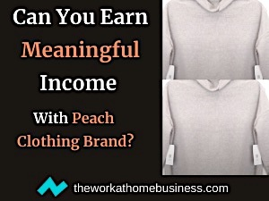Can You Earn Meaningful Income With Peach Clothing Brand?